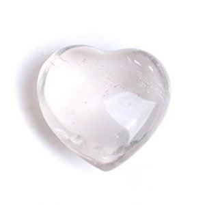 Cuarzo con forma de corazón