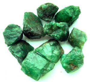 Cristales de esmeralda