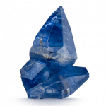 Cristales de zafiro azul