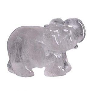 Cuarzo con forma de elefante