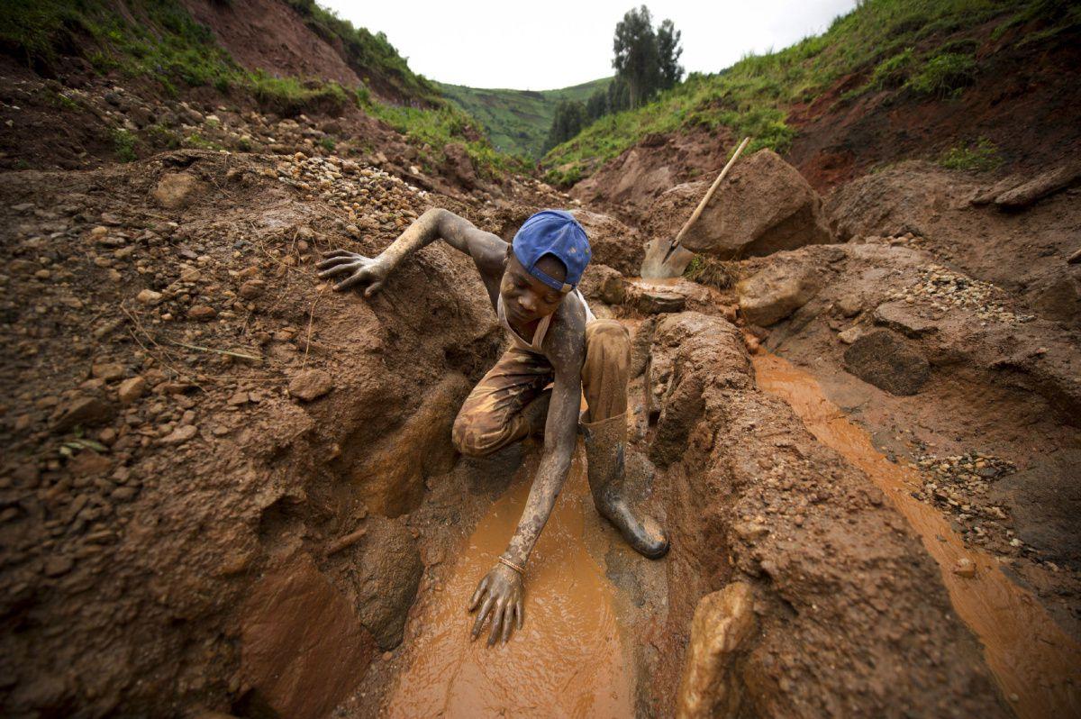 Coltán en el Congo