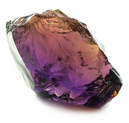 Ametrino cristal