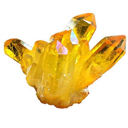 Citrino cristales