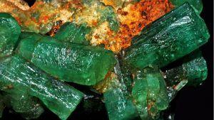 Esmeralda en cristales