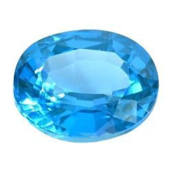 Piedra espinela azul