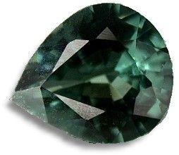 Piedra espinela verde